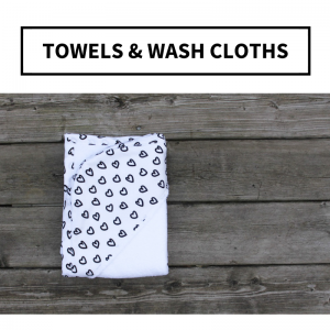 Towels & Wash Cloths
