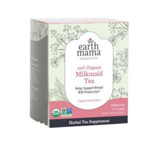 Earth Mama Organics milkmaid tea to boost milk production