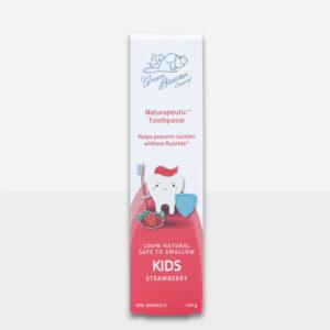 Green Beaver Naturapeutic Kids Toothpaste Fluoride Free STRAWBERRY