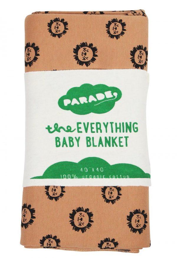 Parade everything baby blanket (lion)