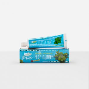 Green Beaver natural toothpaste frosty mint fluoride free