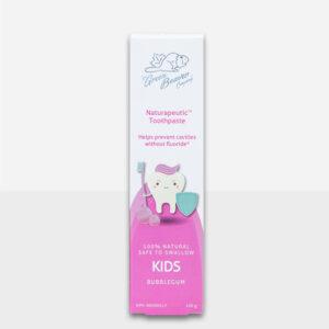 Green Beaver Naturapeutic Kids Toothpaste BUBBLEGUM fluoride free