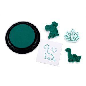 Hachete dinosaur stamps for kids