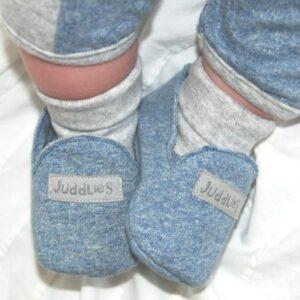 Juddlies baby slippers