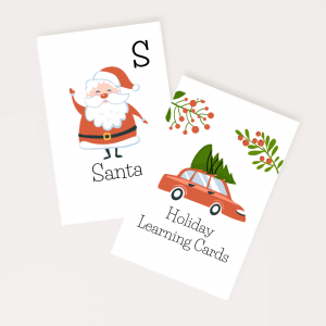 Little Dreamers Holiday Learning Cards