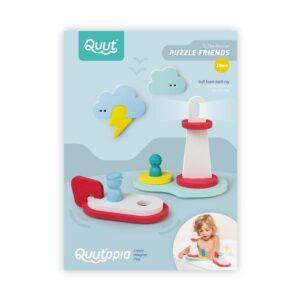 Quut Toys to the rescue bath puzzle