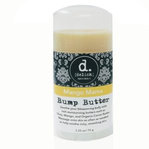 Delish Naturals Mango Mama bump butter