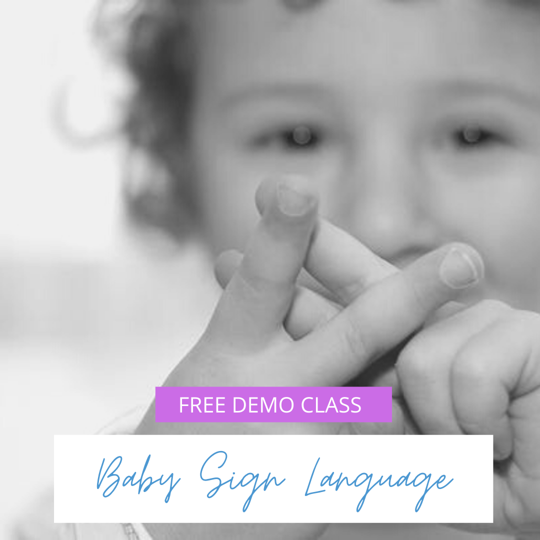 Baby Sign Language early communication with baby