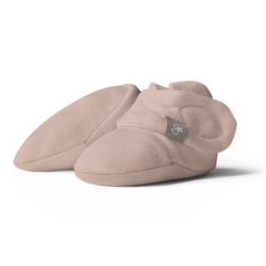 Goumi baby booties 0-3m (rose)