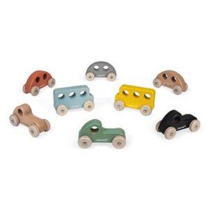 Janod wooden push toys