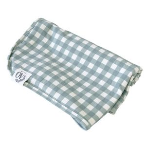 The OVer company butter blanket and swaddle