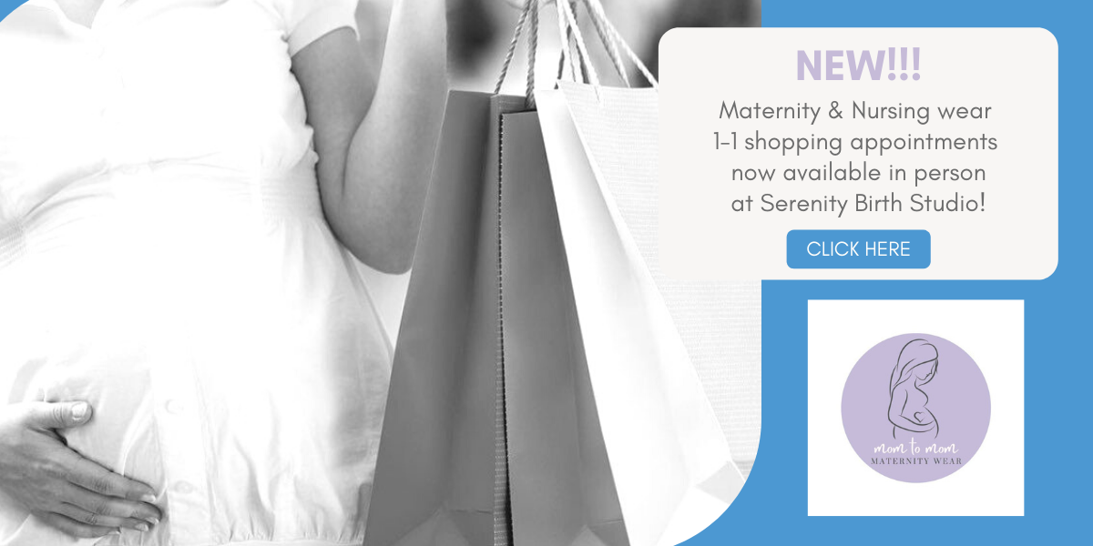 Maternity and nursing wear in Barrie and Simcoe County