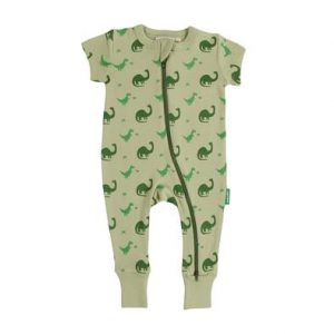 Parade Organics short sleeve rompers for toddlers