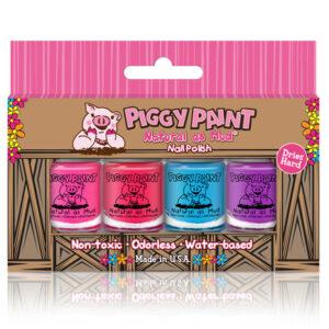 Piggy Paint 4 mini polish set