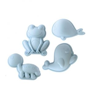 Scrunch sand moulds for the beach or sandbox
