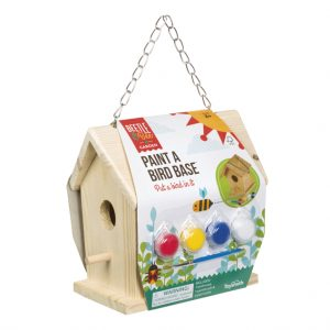 Toysmith Beetle and Bee paint a wood bird house