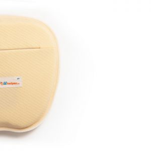 Lil Helper memory foam pillow to prevent flat head syndrome