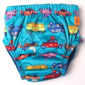 Lil Helper reusable potty training pants - vintage cars
