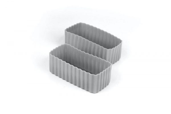 Little Lunch Box Co rectangle silicone bento cups for lunch boxes