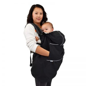 Jan and Jul cozy dry waterproof rain cover for carriers and strollers