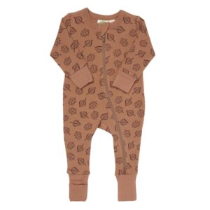 Parade Organics long sleeve rompers for babies and toddlers