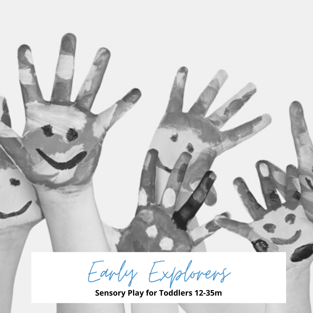 Early explorers sensory play for toddlers